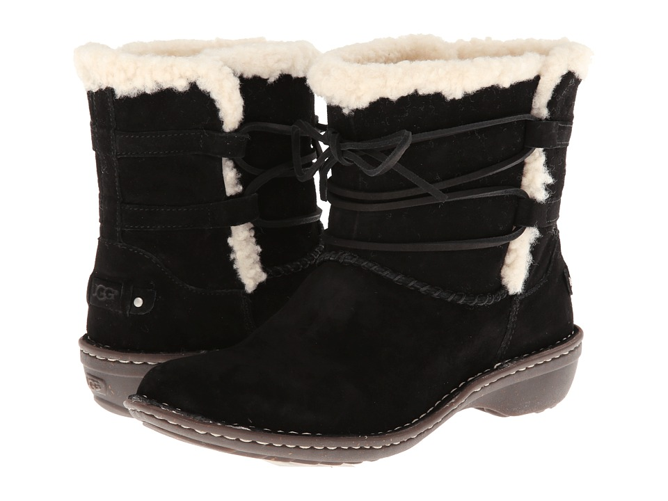 UGG - Rianne (Black Suede) Women's Boots