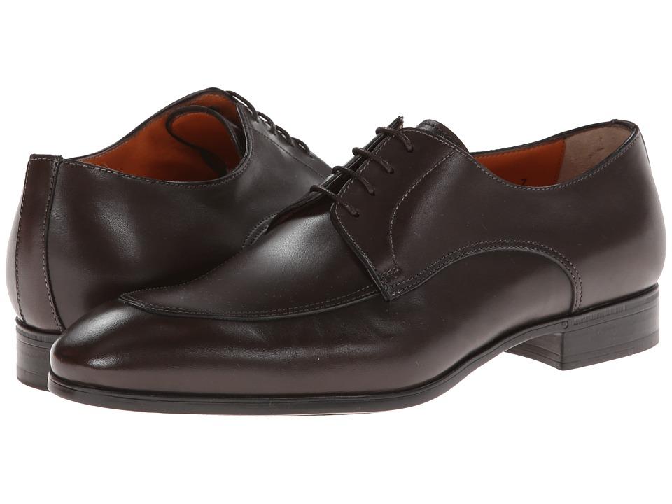 Santoni - Atwood (Dark Brown) Men's Shoes