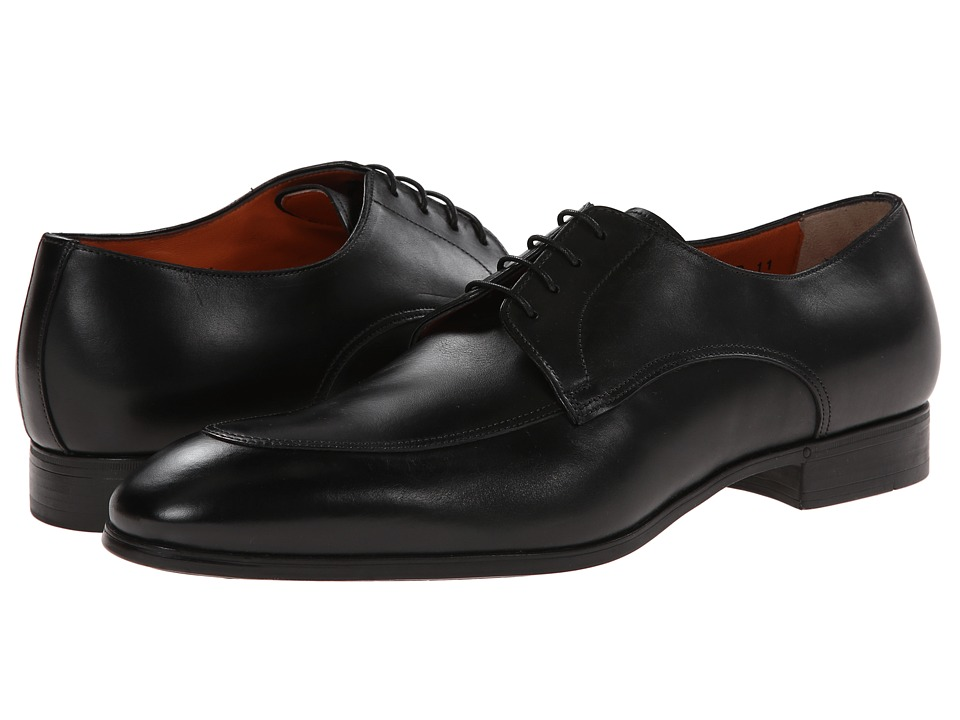 Santoni - Atwood (Black) Men's Shoes
