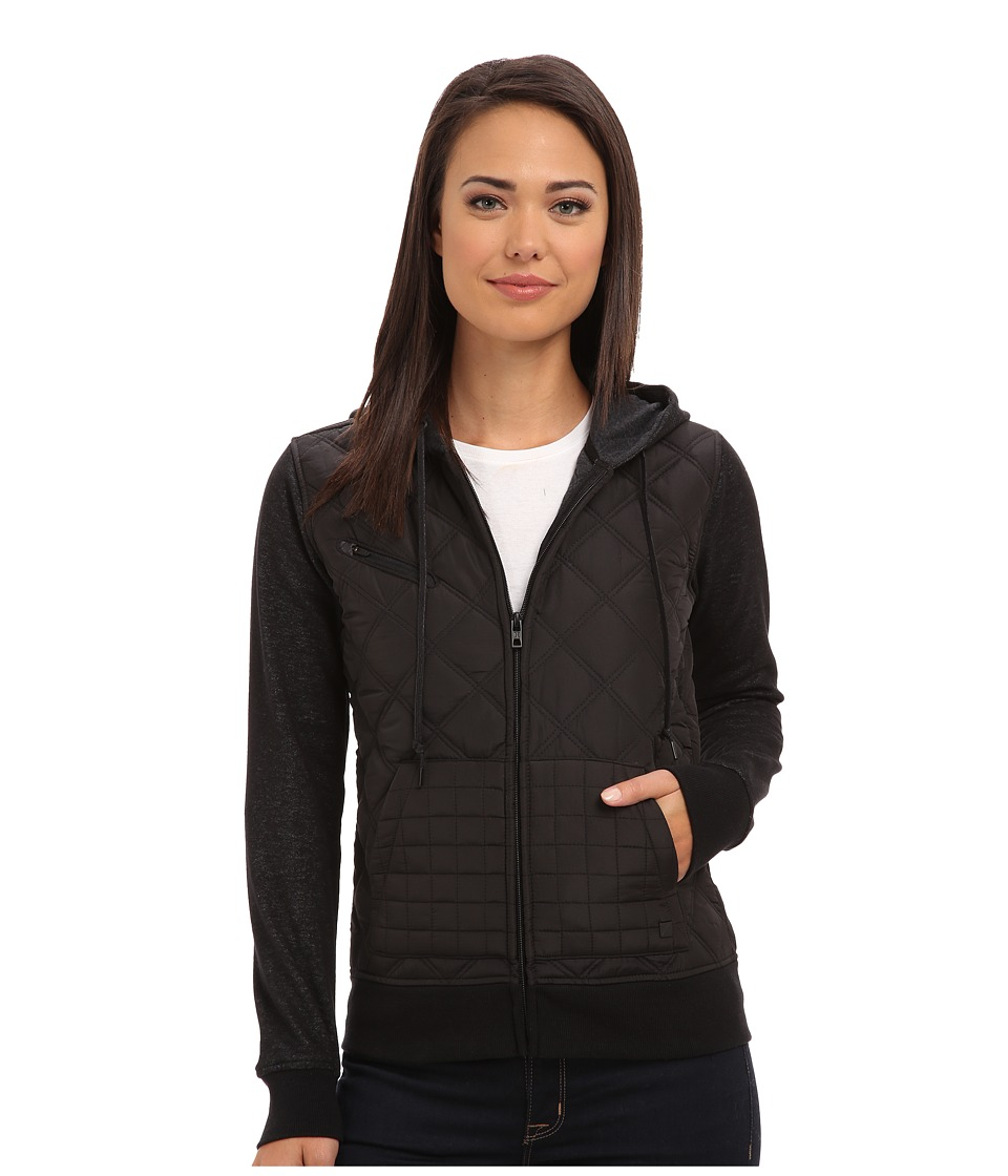 Hurley - Rocky Jacket (Black) Women's Sweatshirt