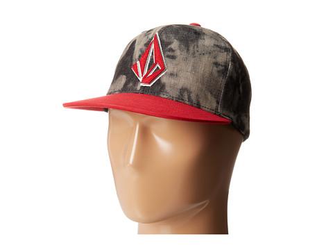 Volcom - Layer JFit Flexfit Hat (Sulfur Black) Caps