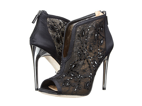 BCBGMAXAZRIA - Deedie (Black Lace Mesh) High Heels