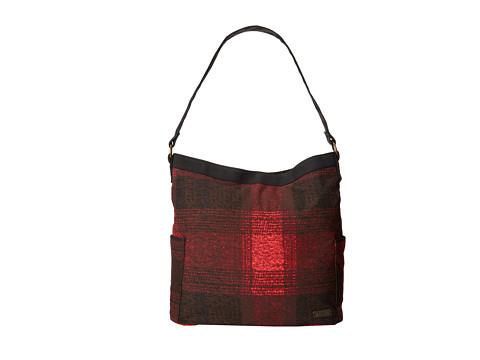 Volcom - Pixie Hobo (Black Plaid) Hobo Handbags