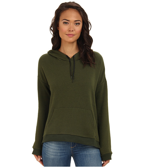 Hurley - Corey Pullover Fleece Hoodie (Rough Green) Women's Sweatshirt