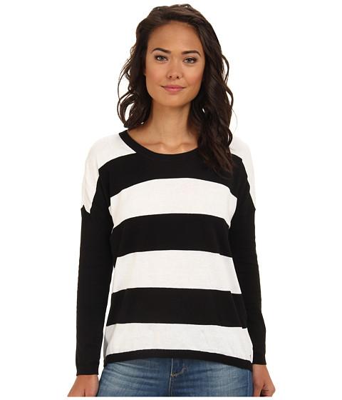 Hurley - Bodie Sweater (Black Bold Stripe) Women's Sweater