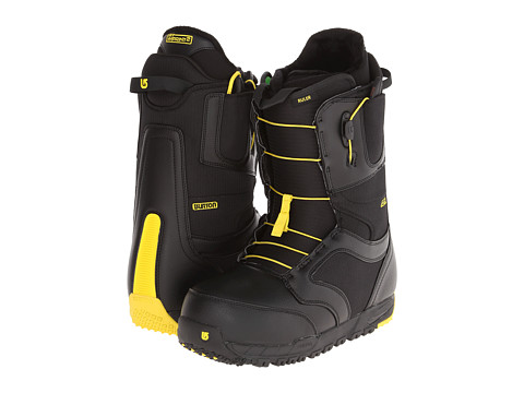 Burton - Ruler - Wide (Black/Yellow) Men's Boots