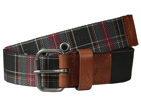Volcom - Back Country 1 1/2 Belt (Burgundy) Men's Belts