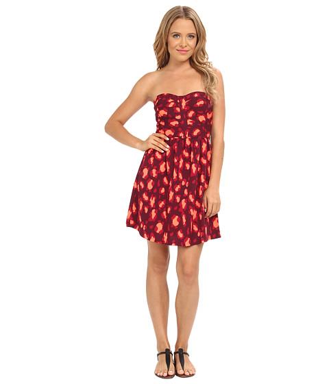 Hurley - Leo Dress (Deep Garnet) Women