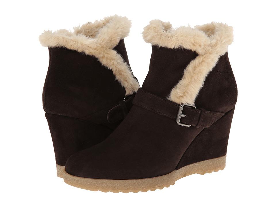 Aquatalia - Carlotta (Espresso Suede) Women's Pull-on Boots