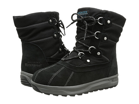 SKECHERS - Storm Cloud - Cumulus (Black) Women's Boots