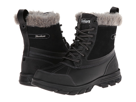SKECHERS - Trail Mix - Heats (Black) Women's Boots