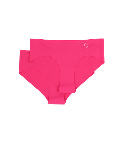 Moving Comfort - Out Of Sight Bikini 2-Pack (Power Pink) Women's Underwear