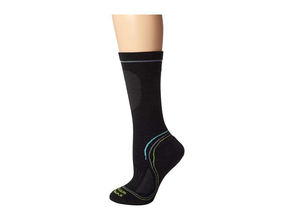 Wigwam - Tech Pro Crew 3-Pair Pack (Black/Black/Black) Women's Crew Cut Socks Shoes