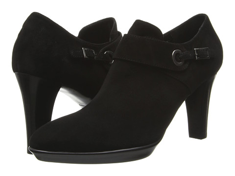 Aquatalia - Roam (Black Suede) High Heels