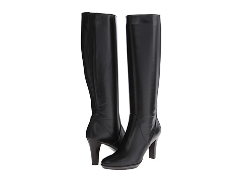 Aquatalia - Roving (Black Baby Calf) Women's Boots