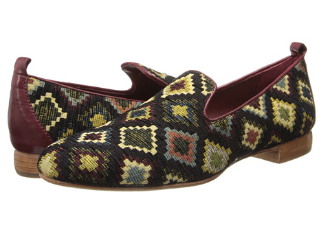 Johnston & Murphy - Rea Slipper (Needlepoint) Women's Shoes