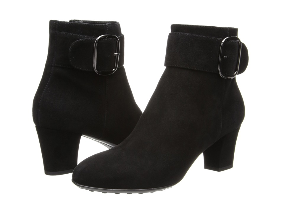 Aquatalia - Ziva (Black Suede) Women