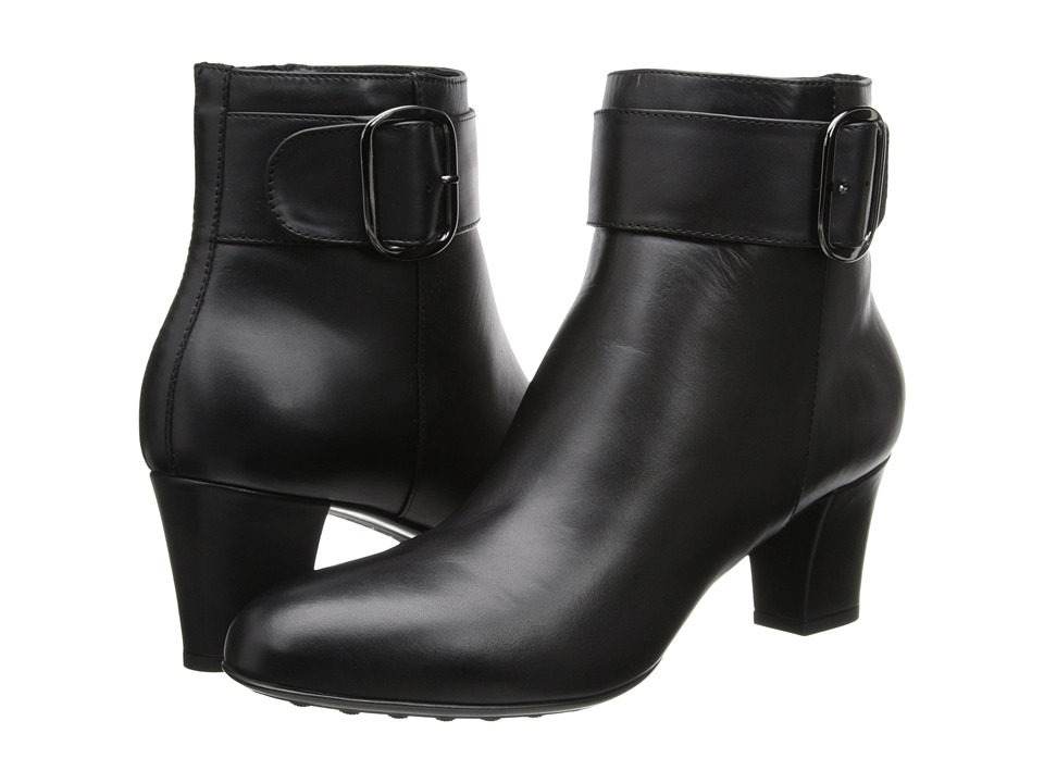 Aquatalia - Ziva (Black Baby Calf) Women's Boots