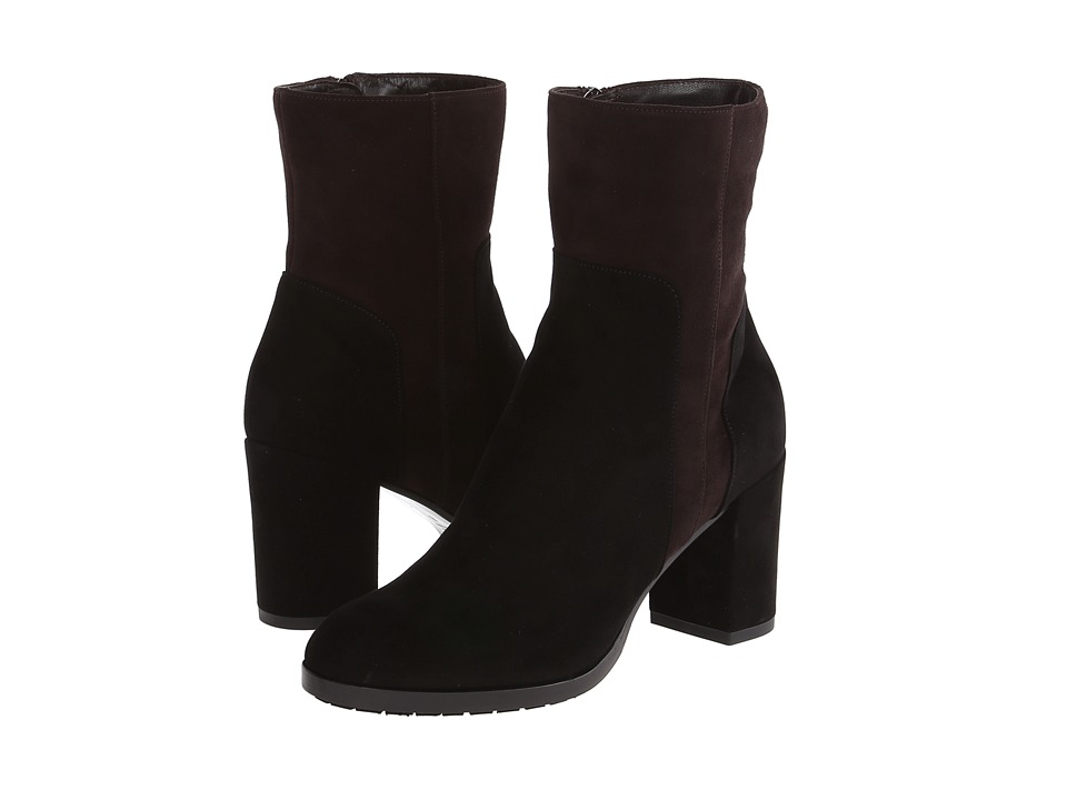 Aquatalia - Yannicka (Black Suede Combo) Women's Boots