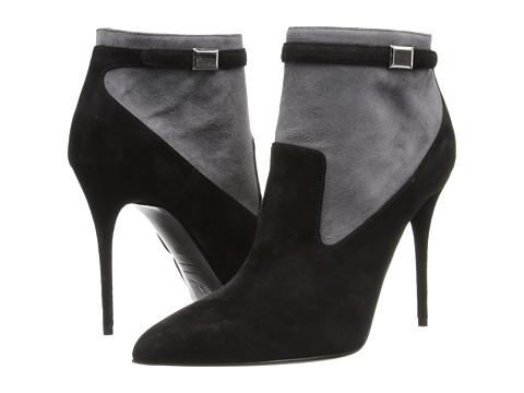 Alexander McQueen - 360706 WHAAC 1026 (Black/Grey) Women's Zip Boots