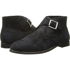 Johnston Murphy Belle Monk Strap (Black Oiled Suede) Footwear