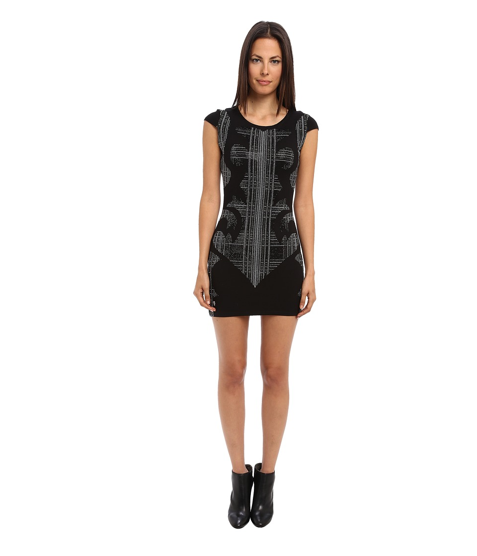 Philipp Plein - Jersey Dress (Black) Women's Dress