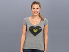 Life is good Heart Record Newbury V-Neck Tee