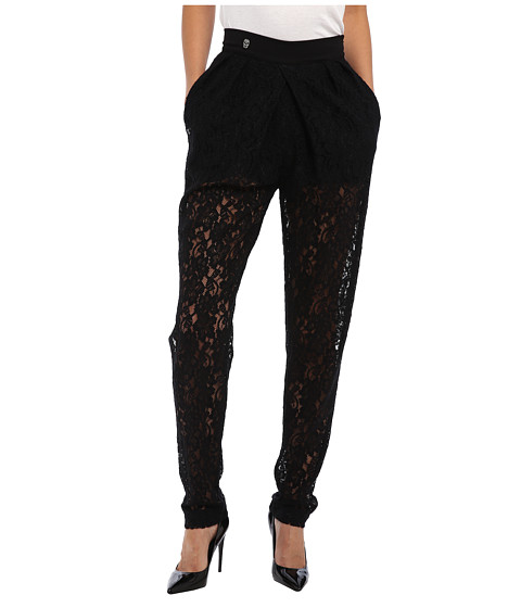 Philipp Plein - Pantsgone With The Wind (Black) Women's Casual Pants
