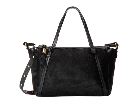 Foley & Corinna - Tight Rope Mini Satchel (Pony) (Black Pony) Satchel Handbags