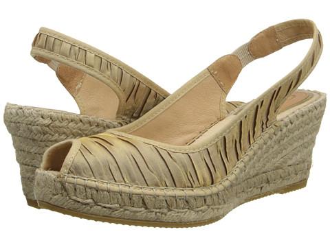 Vidorreta - Felicia (Gold Dunas Gris) Women's Sling Back Shoes