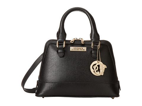 Versace Collection - Classic Satchel (Black) Satchel Handbags