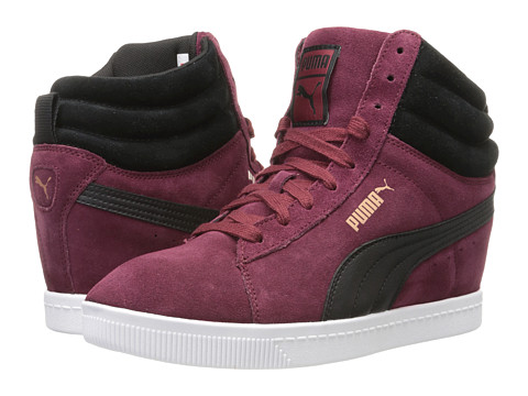 PUMA - PC Wedge WW (Zinfandel) Women's Classic Shoes