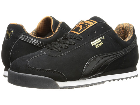 PUMA - Roma NBK Tort (Black/New Gold) Women