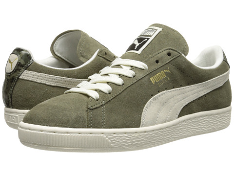 PUMA - Suede Classic NC (Burnt Olive) Women's Classic Shoes