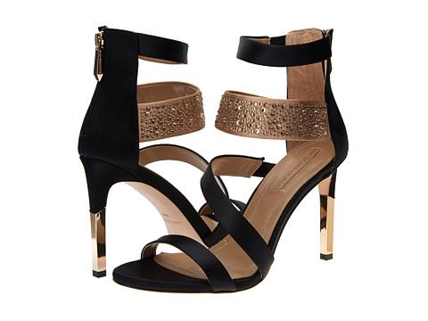 BCBGMAXAZRIA Gian Black Glazed Goat-Stretch Womens Boots