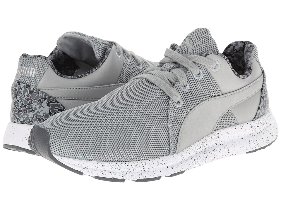 PUMA - Haast Lace Tort (Quarry/Turbulence/Puma Silver) Women