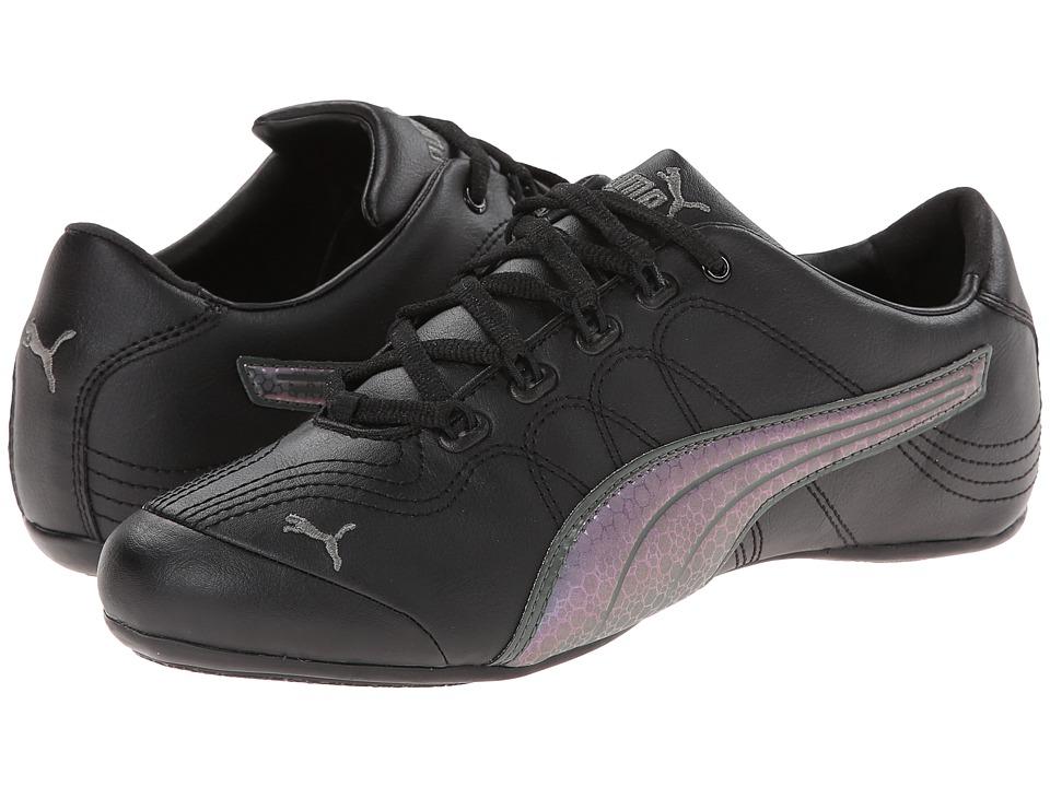 PUMA - Soleil v2 (Black/Dark Shadow) Women's Classic Shoes