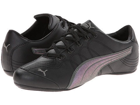 PUMA - Soleil v2 (Black/Dark Shadow) Women's Classic Shoes