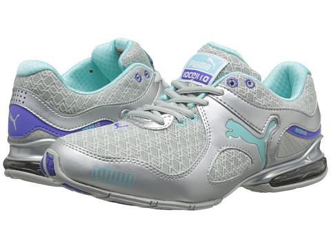 PUMA - Cell Riaze TTM (Puma Silver/Aruba Blue/Blue Iris) Women's Shoes