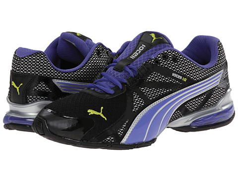 PUMA - Voltaic 5 (Black/Blue Iris/Sulphur Spring) Women's Shoes
