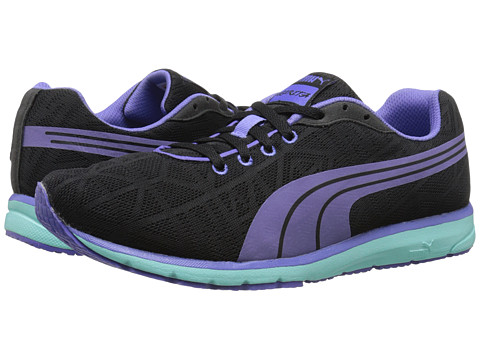 PUMA - Narita v2 (Black/Blue Iris) Women's Running Shoes