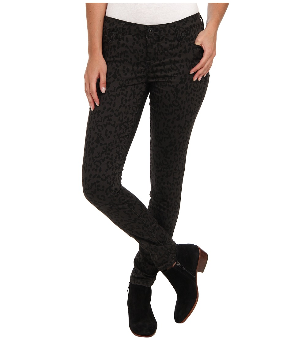 Hurley - 81 Skinny Twill Legging (Black Leopard) Women's Casual Pants