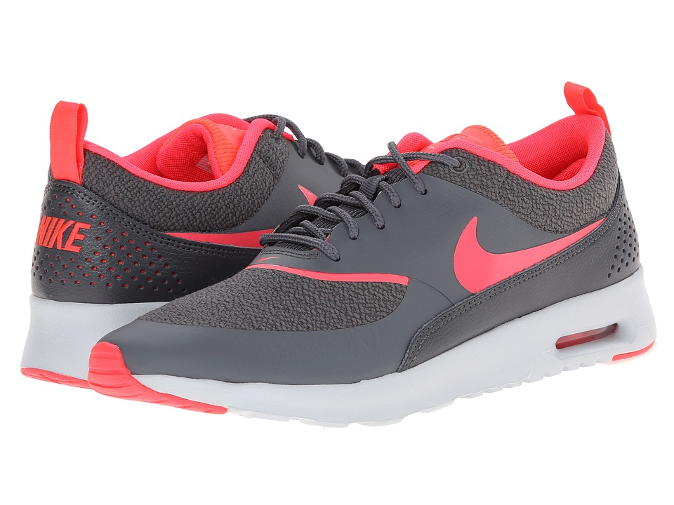 Nike - Air Max Thea (Dark Grey/Pure Platinum/Hyper Punch) Women's Shoes