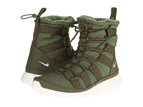 72ce001ffd2f ... UPC 826216396030 product image for Nike - Roshe Run Hi Sneaker Boot  (Rough Green  UPC 826216396030 product image for Nike Women s Rosherun Hi  ...
