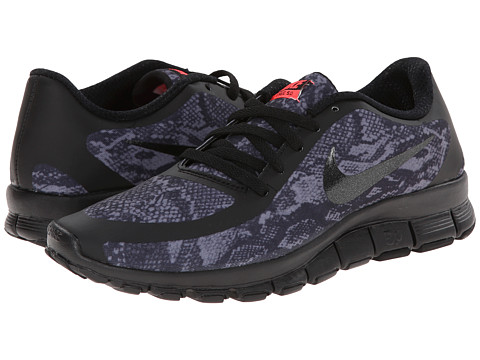 Nike - Free 5.0 V4 (Anthracite/Black/Black) Women