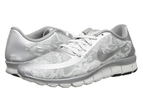 Nike - Free 5.0 V4 (Metallic Silver) Women's Shoes