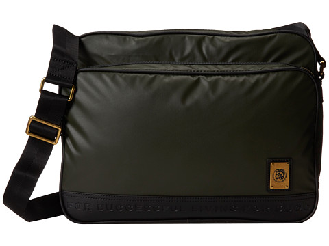 Diesel - On The Road Trip Potsie Twice (Tarmac) Messenger Bags