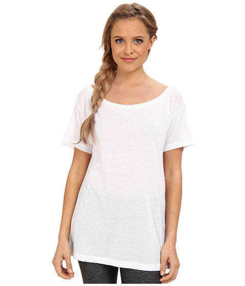 Hurley - Solid Dri-FIT Tee (White) Women's T Shirt