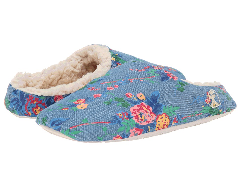 Bedroom Athletics - Rosie (Blue Denim) Women's Slippers