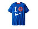 Nike Kids I Ball Tee (Little Kids/Big Kids) (Game Royal/Team Orange)